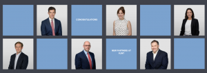 Six new partners promoted from the Flint team